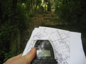 Sportujeme s mobilem – geocaching